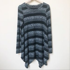 UO BDG Striped Tunic Sweater Size Small